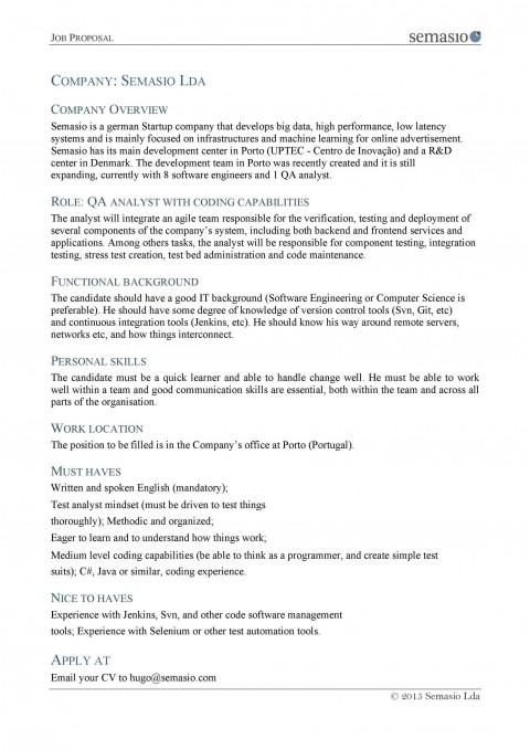 007 Unique Writing A Job Proposal Template Sample Inspiration 480