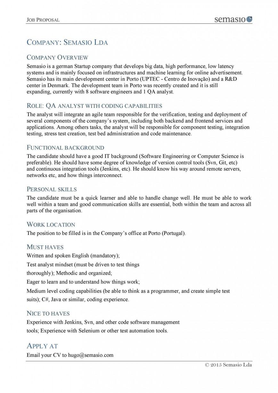 007 Unique Writing A Job Proposal Template Sample Inspiration 868