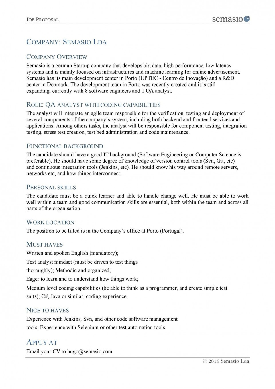 007 Unique Writing A Job Proposal Template Sample Inspiration 960