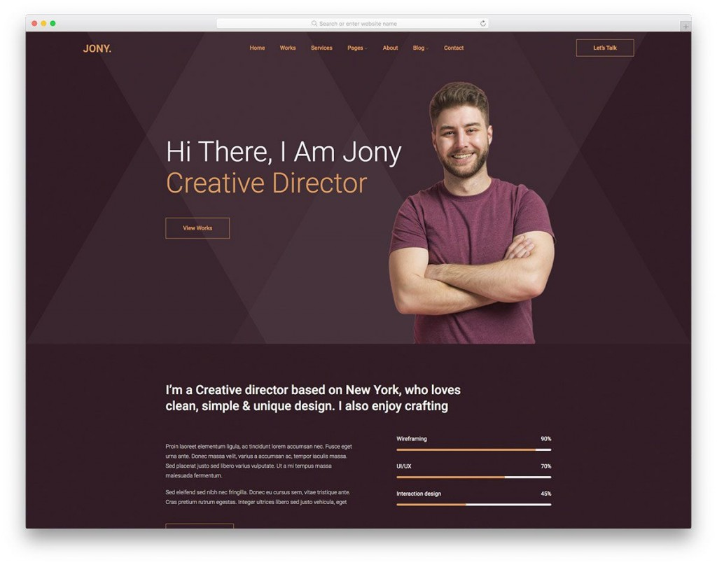 007 Unusual Free Professional Website Template Download Inspiration  Html And Cs With Jquery BusinesLarge