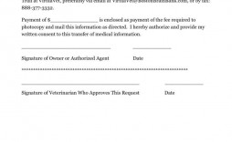 007 Unusual Medical Record Request Form Template Idea  Free Release Authorization