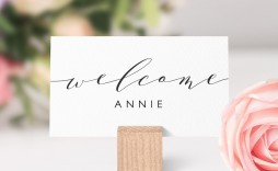 007 Unusual Name Place Card Template For Wedding Example  Free Word