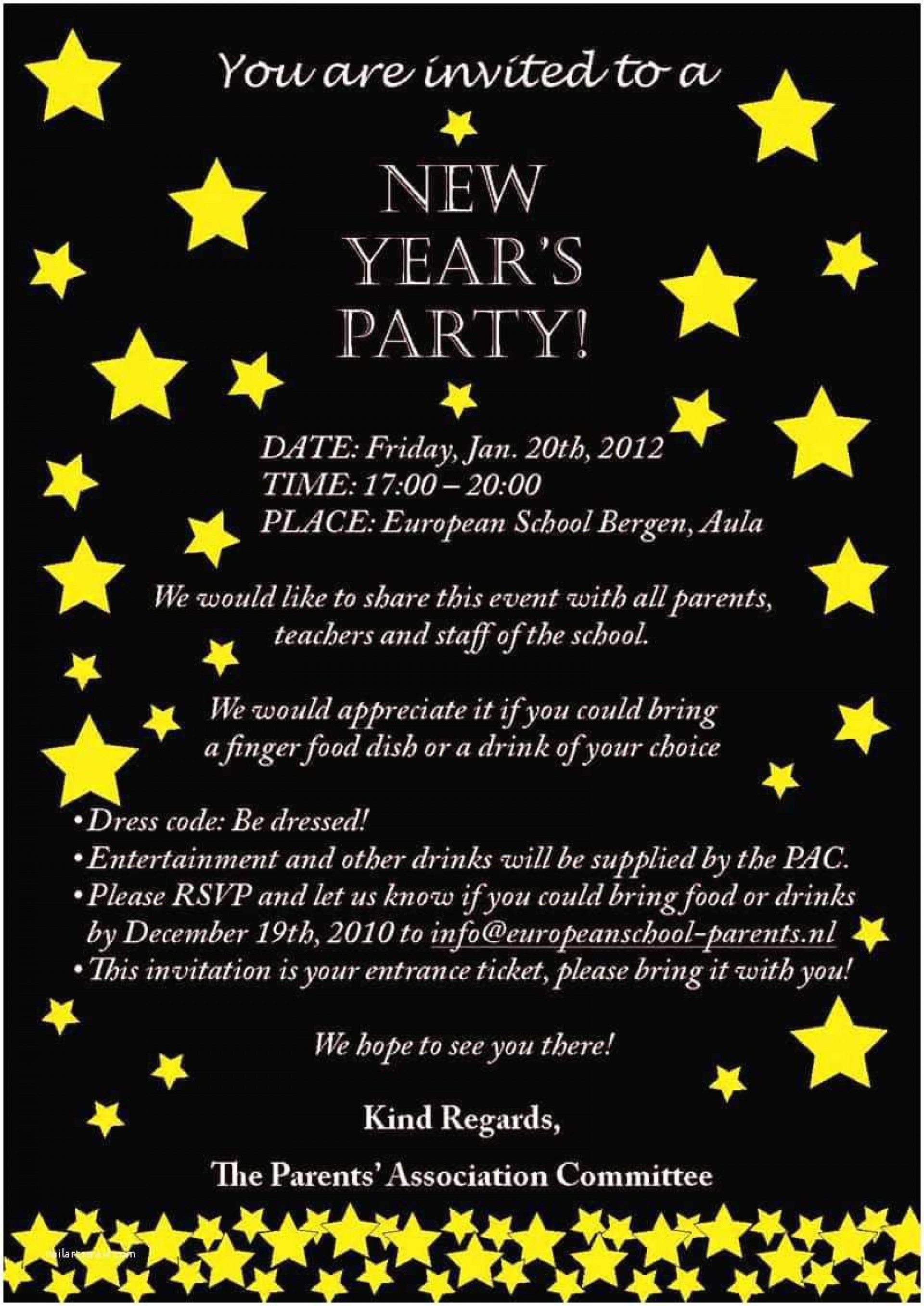 007 Unusual New Year Eve Invitation Template Highest Clarity  Party Free Word1920