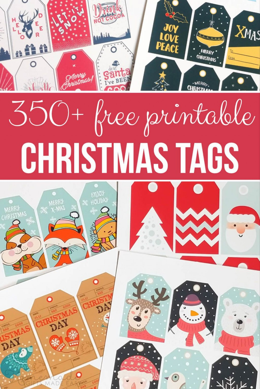 007 Unusual Printable Christma Gift Tag Template Example  Templates Free Holiday For WordLarge