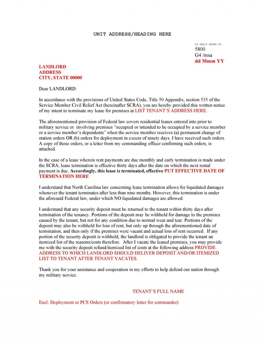 007 Unusual Sample Letter For Terminating Rental Agreement Highest Clarity  Terminate Tenancy To Lease From Landlord ALarge