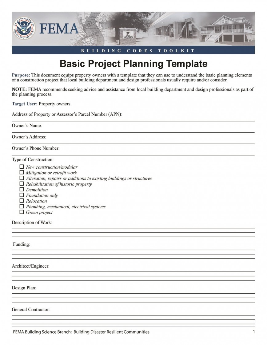 007 Unusual Simple Project Management Plan Template Free Sample  Word