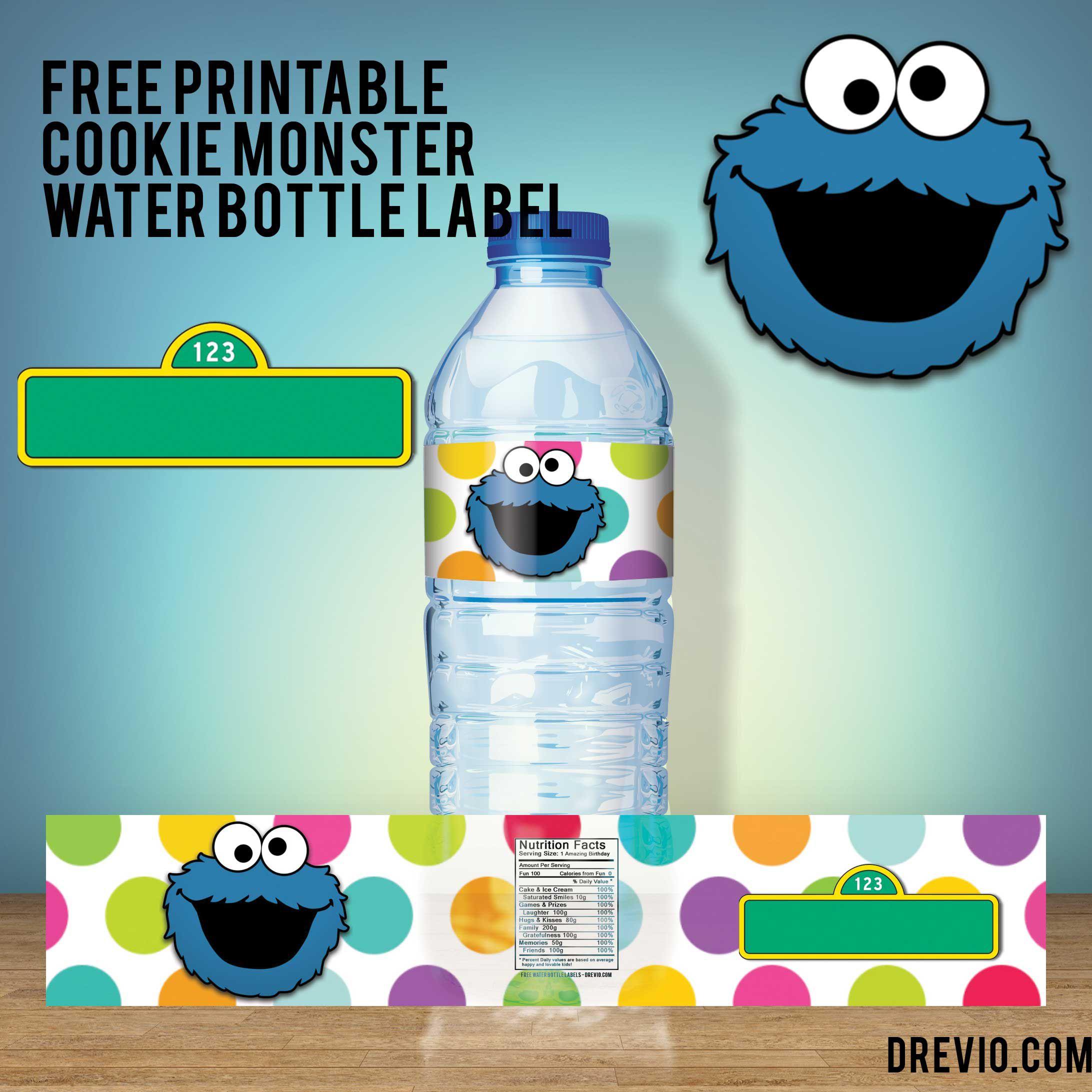 007 Unusual Water Bottle Label Template Free Image  Word Superhero PhotoshopFull