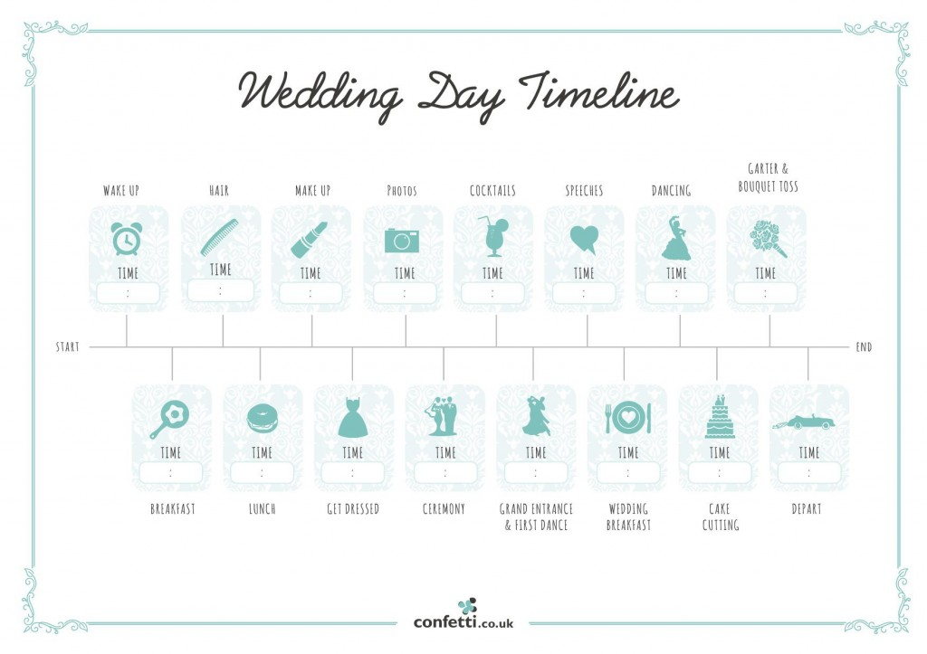 007 Unusual Wedding Timeline Template Free High Resolution  Day Excel ProgramLarge