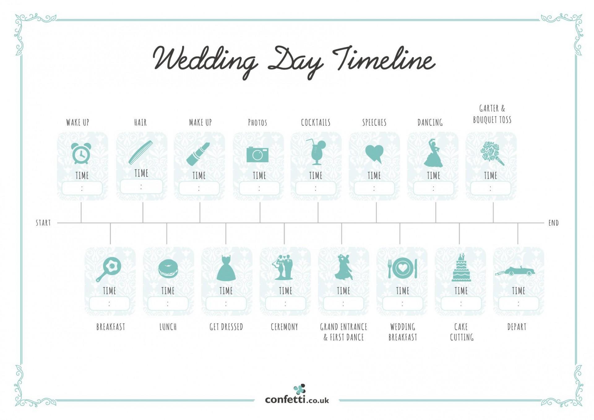 007 Unusual Wedding Timeline Template Free High Resolution  Day Excel Program1920