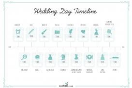 007 Unusual Wedding Timeline Template Free High Resolution  Day Excel Program
