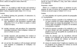007 Unusual Workplace Violence Incident Report Form Ontario Example