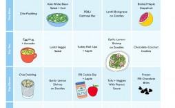 007 Wonderful 2 Week Meal Plan Printable Design