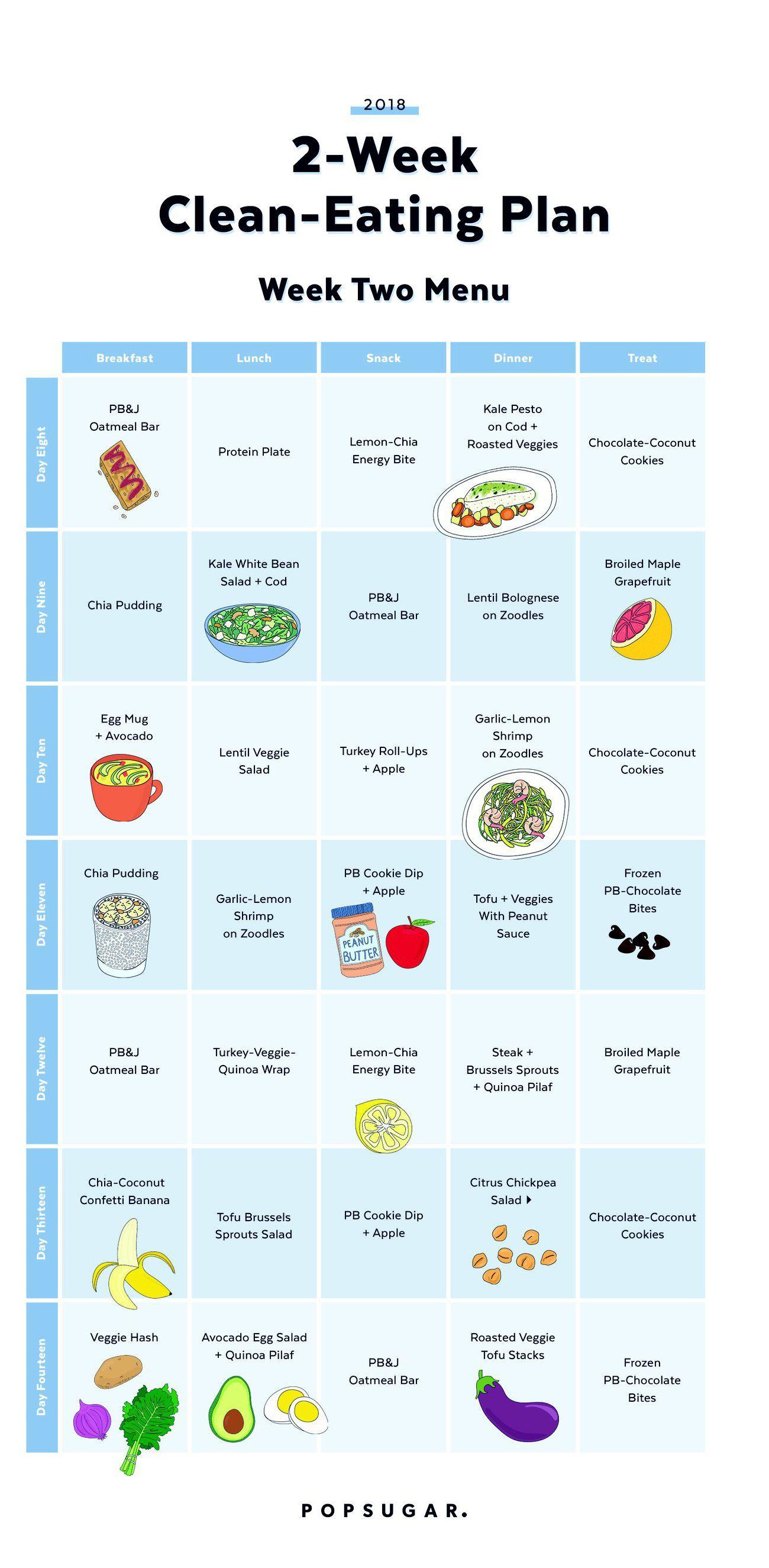 007 Wonderful 2 Week Meal Plan Printable Design Full