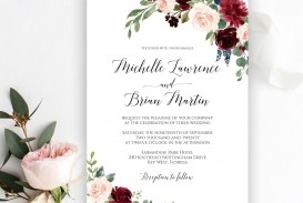 007 Wonderful Free Download Marriage Invitation Template Idea  Card Design Psd After Effect