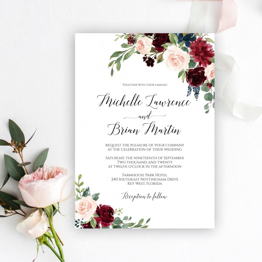007 Wonderful Free Download Marriage Invitation Template Idea  Card Design Psd After Effect868