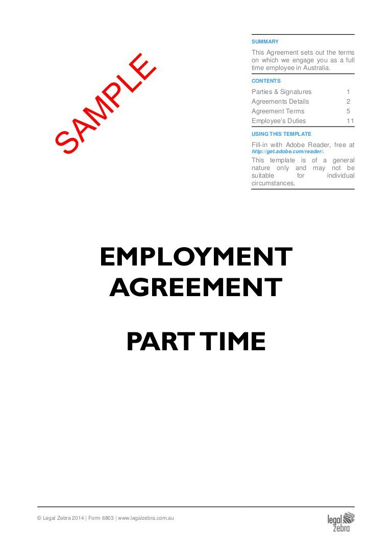007 Wonderful Free Employment Contract Template High Definition  Templates Bc Temporary South Africa IrelandFull