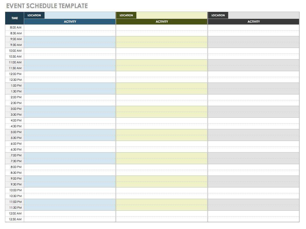 007 Wonderful Free Event Planner Checklist Template Design  Planning PartyFull