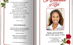 007 Wonderful Free Funeral Program Template Download Picture  Simple Editable Microsoft Word