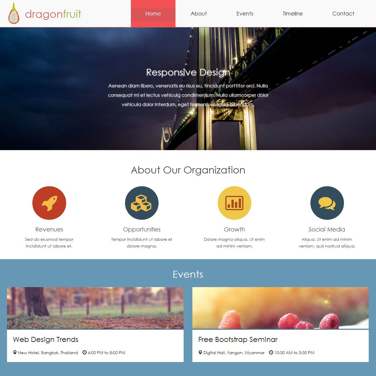 007 Wonderful Free Html5 Web Template Inspiration  Responsive With Navigation Css3 BootstrapFull