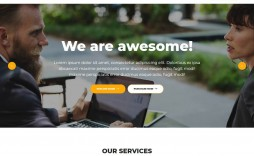 007 Wonderful Free Web Template Download Html And Cs For Busines Concept  Business Website Responsive With