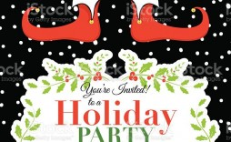007 Wonderful Holiday Party Invitation Template Free Example  Christma Invite Online Word Editable Printable