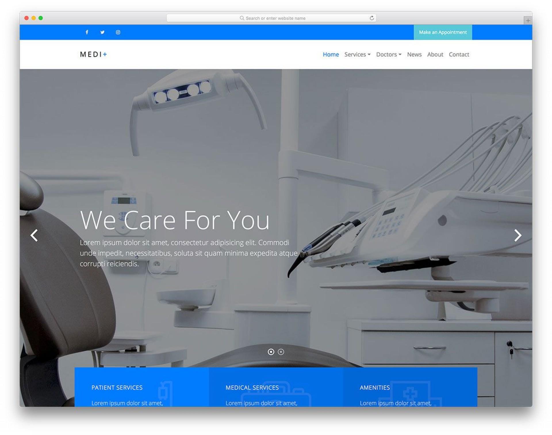 007 Wonderful Mobile Friendly Website Template High Definition  Best1920