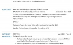 007 Wonderful Resume Template For Intern Concept  Interns Internship In Engineering Law Example
