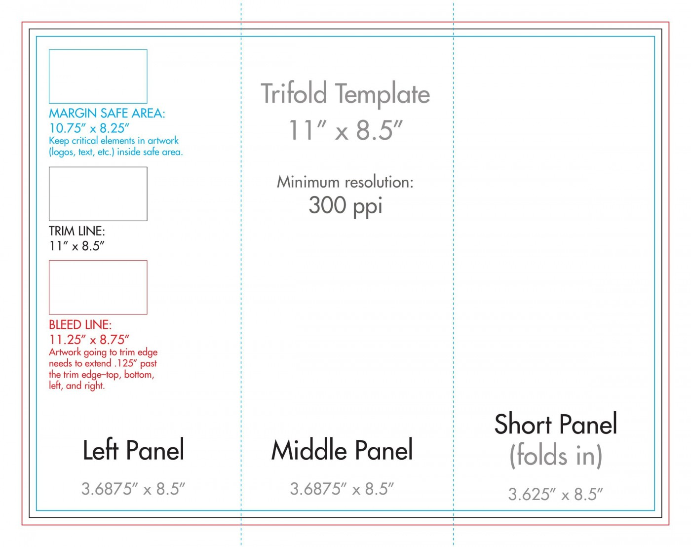 007 Wondrou 3 Fold Brochure Template Concept  For Free1400