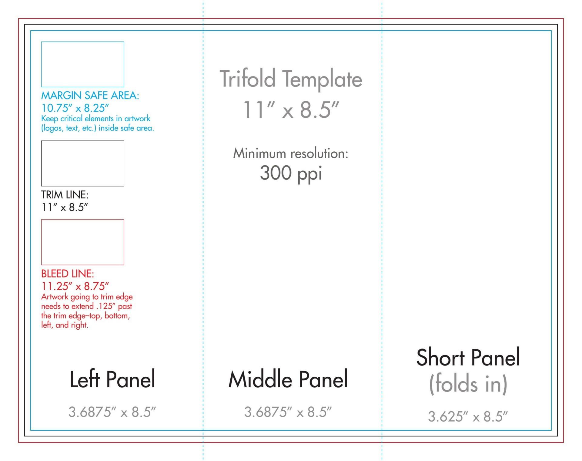 007 Wondrou 3 Fold Brochure Template Concept  Templates For Free1920
