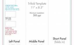 007 Wondrou 3 Fold Brochure Template Concept  Templates For Free
