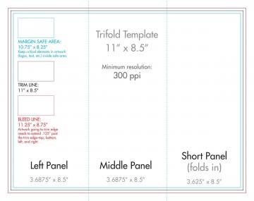 007 Wondrou 3 Fold Brochure Template Concept  For Free360