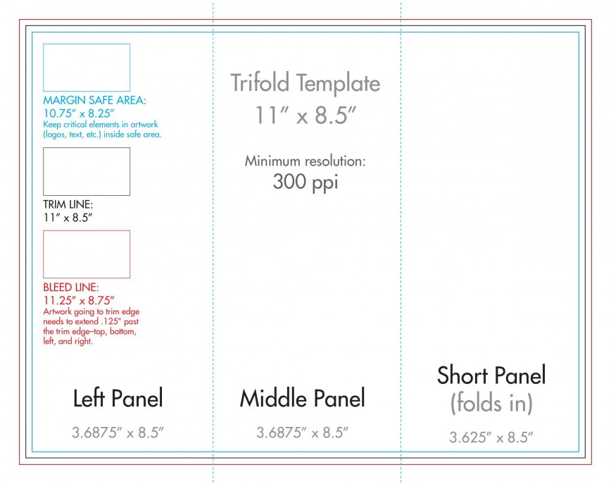 007 Wondrou 3 Fold Brochure Template Concept  For Free868