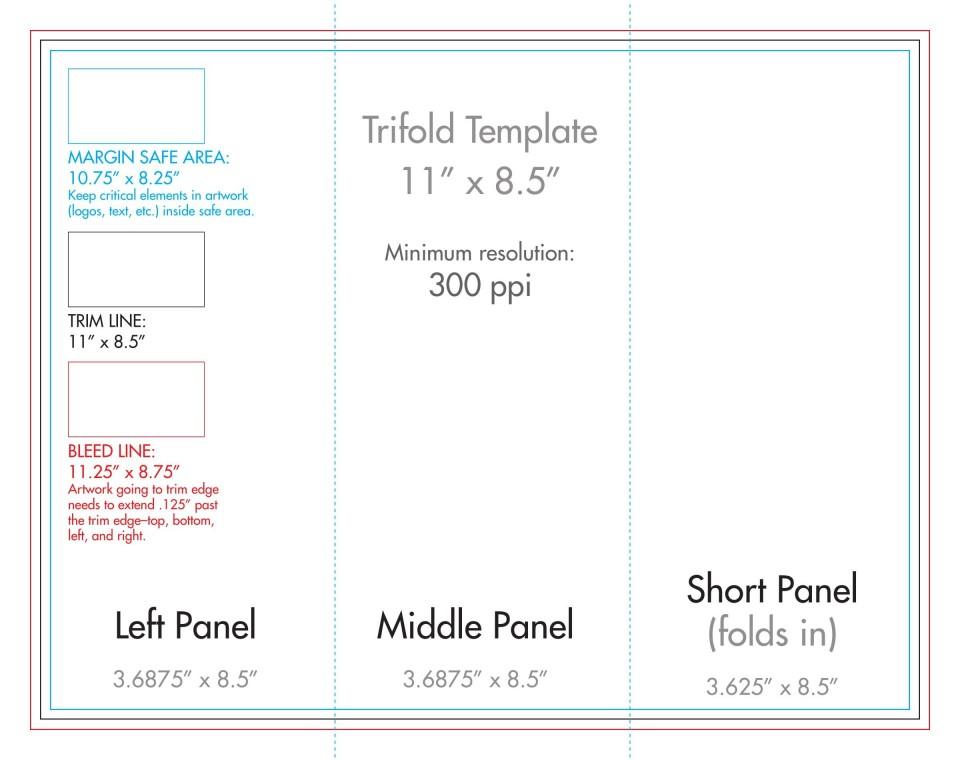 007 Wondrou 3 Fold Brochure Template Concept  For Free960