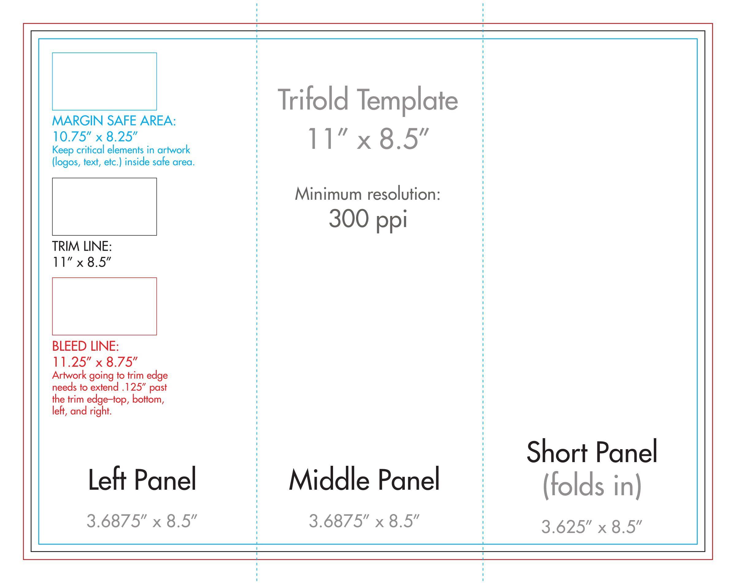 007 Wondrou 3 Fold Brochure Template Concept  Templates For FreeFull
