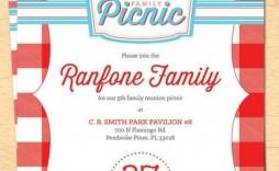 007 Wondrou Family Reunion Flyer Template Free Inspiration  Downloadable Printable Invitation