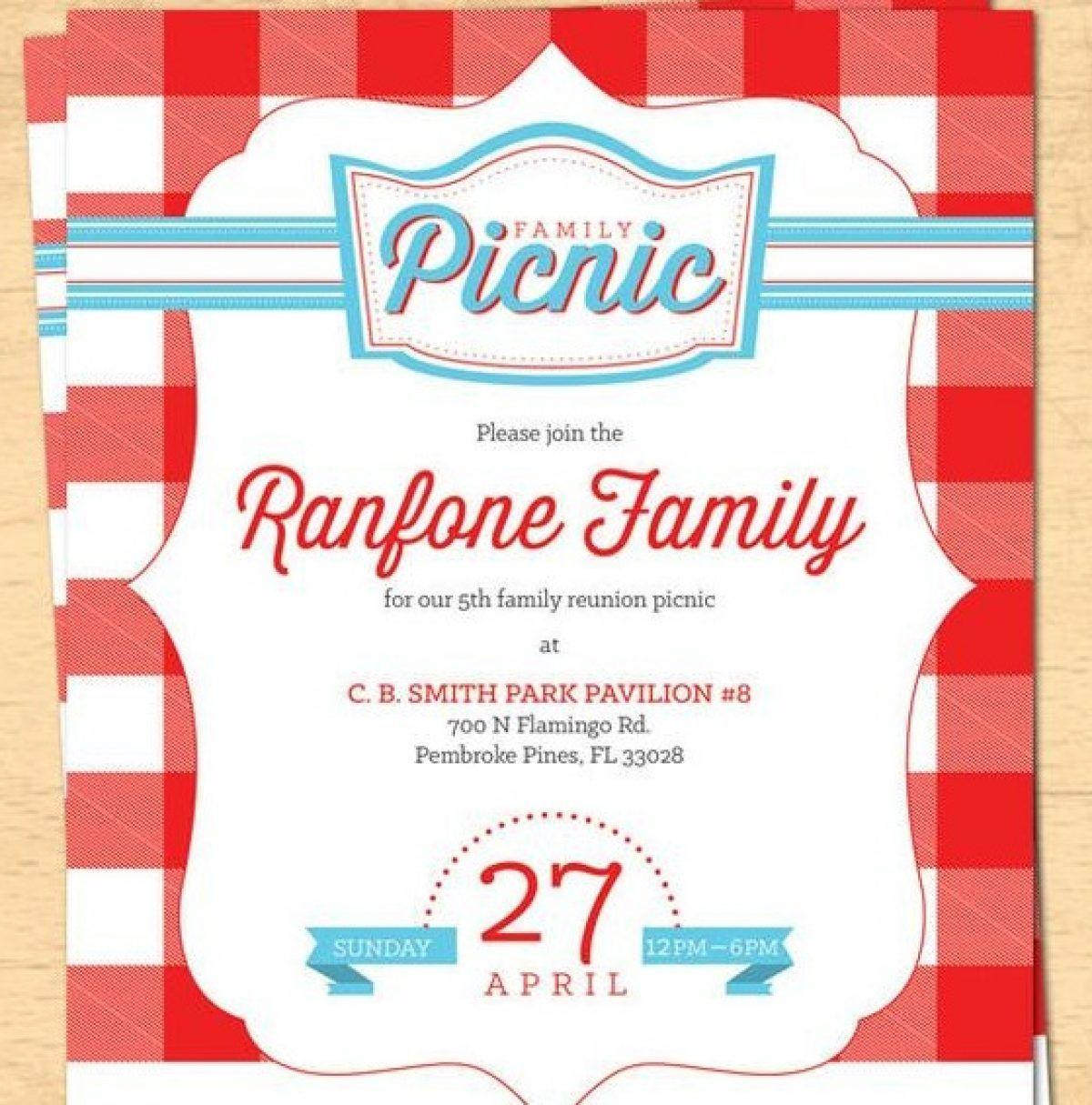 007 Wondrou Family Reunion Flyer Template Free Inspiration  Downloadable Printable InvitationFull