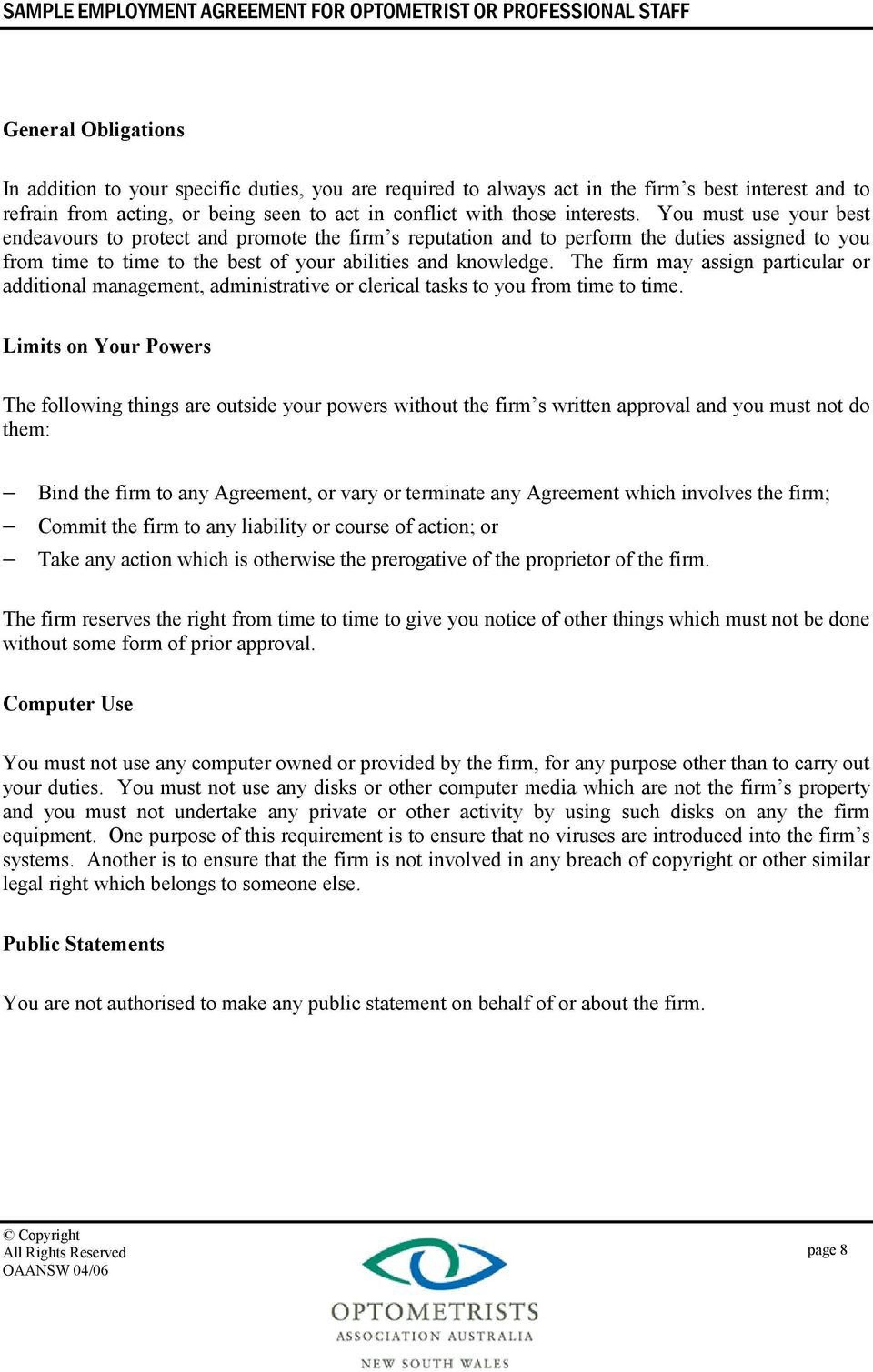 007 Wondrou Free Casual Employment Contract Template Australia Sample 1920
