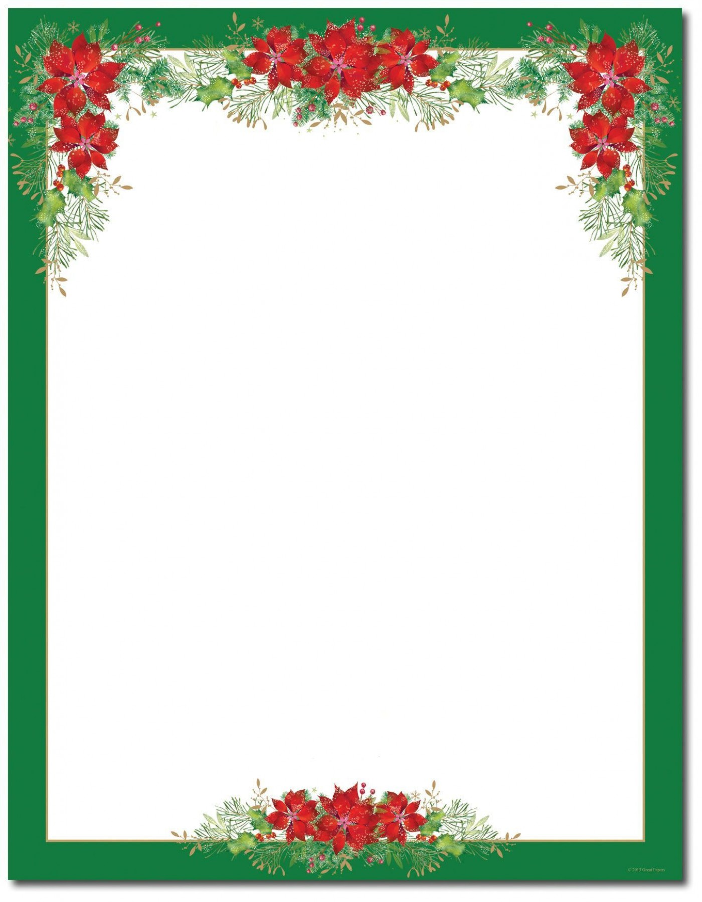 007 Wondrou Free Holiday Stationery Template For Word Image 1400