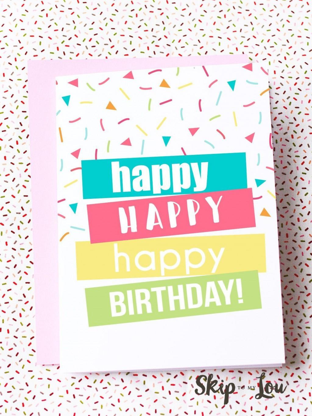 007 Wondrou Free Printable Birthday Card Template For Mac Design Large
