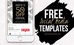 007 Wondrou Free Social Media Template Picture  Templates Website Design Post Download For Powerpoint