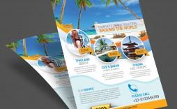 007 Wondrou Free Travel Flyer Template Download Concept