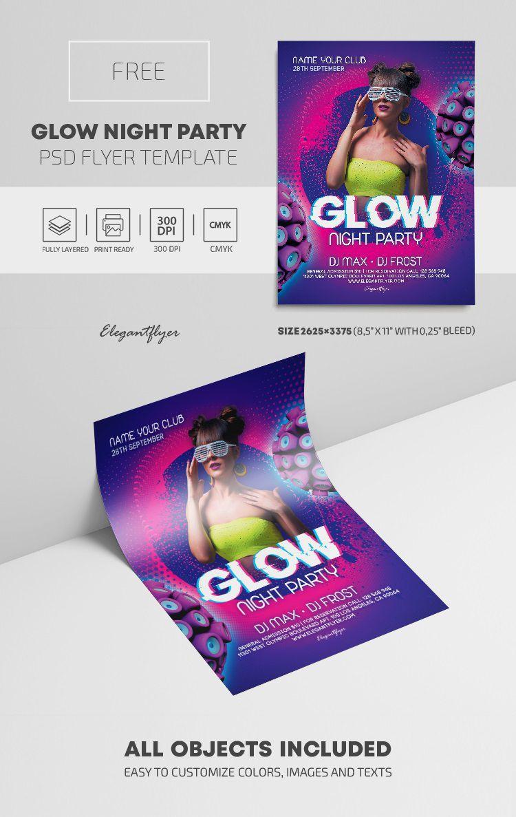 007 Wondrou Graduation Party Flyer Template Free Psd High Def Full