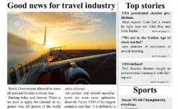 007 Wondrou Microsoft Word Newspaper Template Design  Free Old Download Fashioned