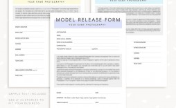 007 Wondrou Model Release Form Template Picture  Photography Uk Gdpr Australia