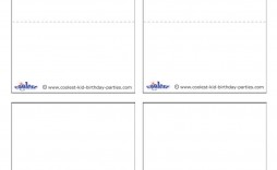 007 Wondrou Place Card Template Word Picture  Format Download Free Fold Over