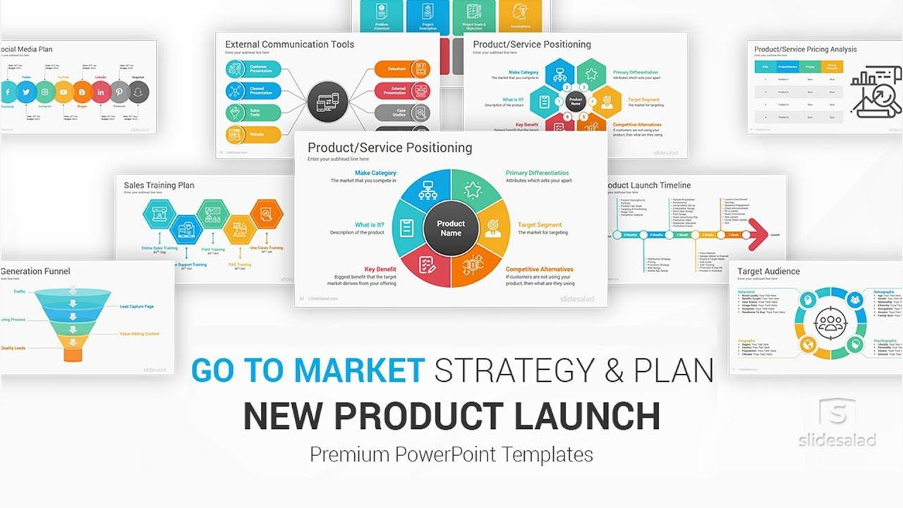 007 Wondrou Product Launch Marketing Plan Template Design  Sample New Example PptFull