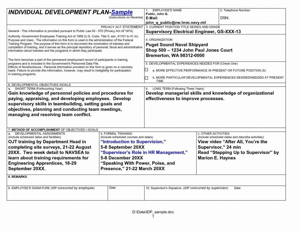 007 Wondrou Professional Development Plan For Teacher Template Doc Example Large