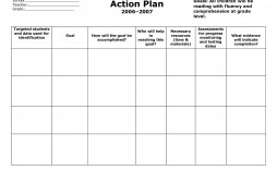 007 Wondrou Smart Action Plan Template High Def  Download Nh Example Free