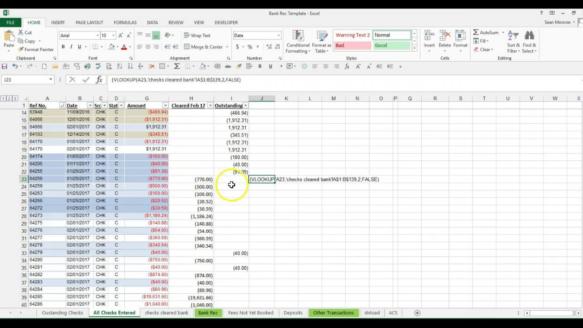 008 Amazing Bank Reconciliation Excel Template High Definition  Statement Format Free Download Monthly1920
