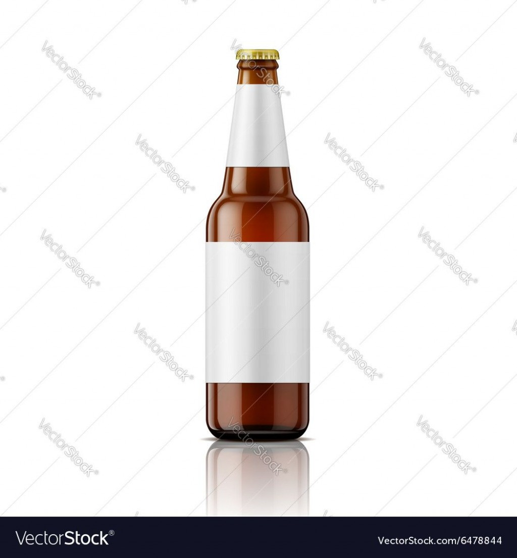 008 Amazing Beer Bottle Label Template Highest Clarity  Free Dimension WordLarge